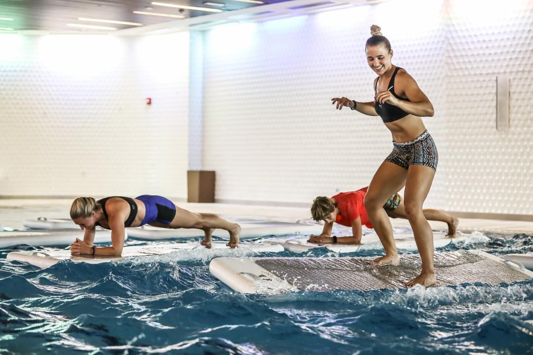 Water Fitness Company Raises 320 000