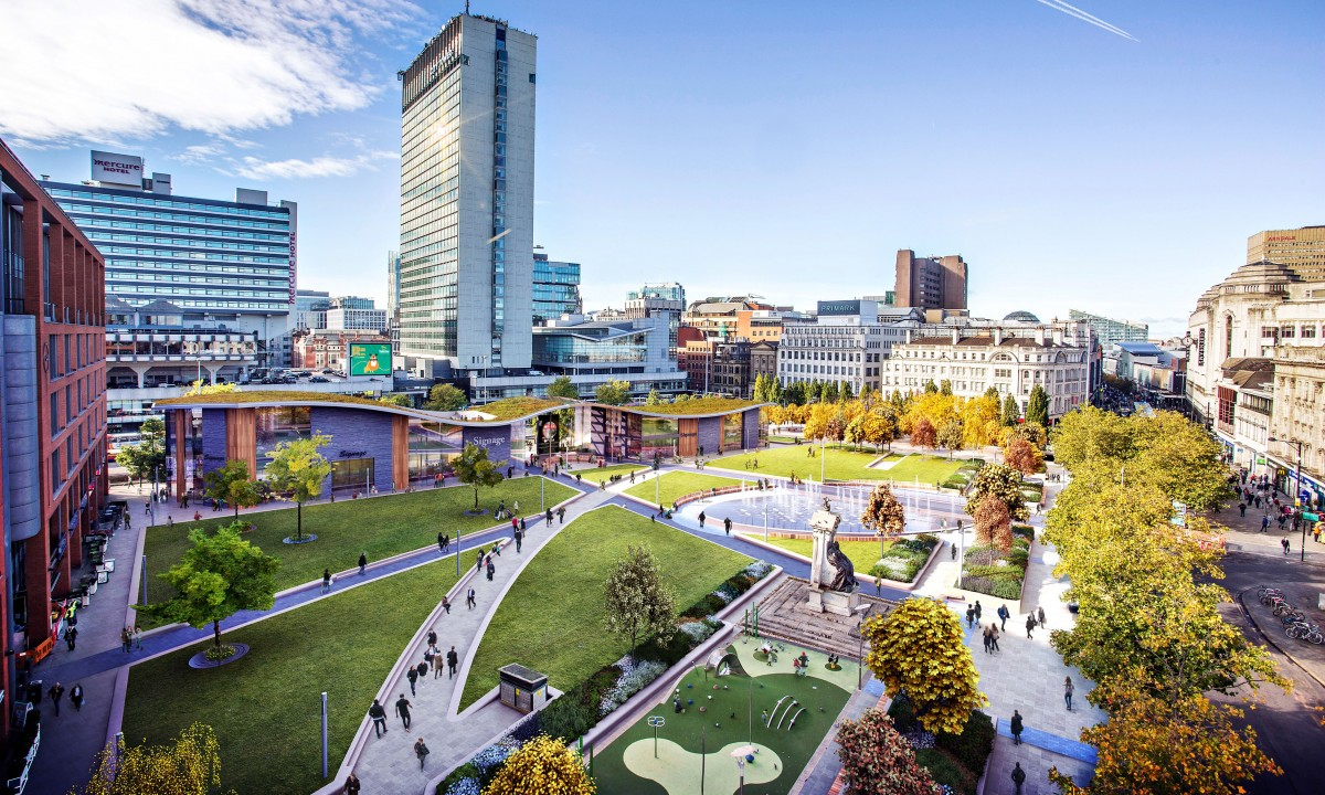 Manchesters Piccadilly Gardens Set For Overhaul Insider Media