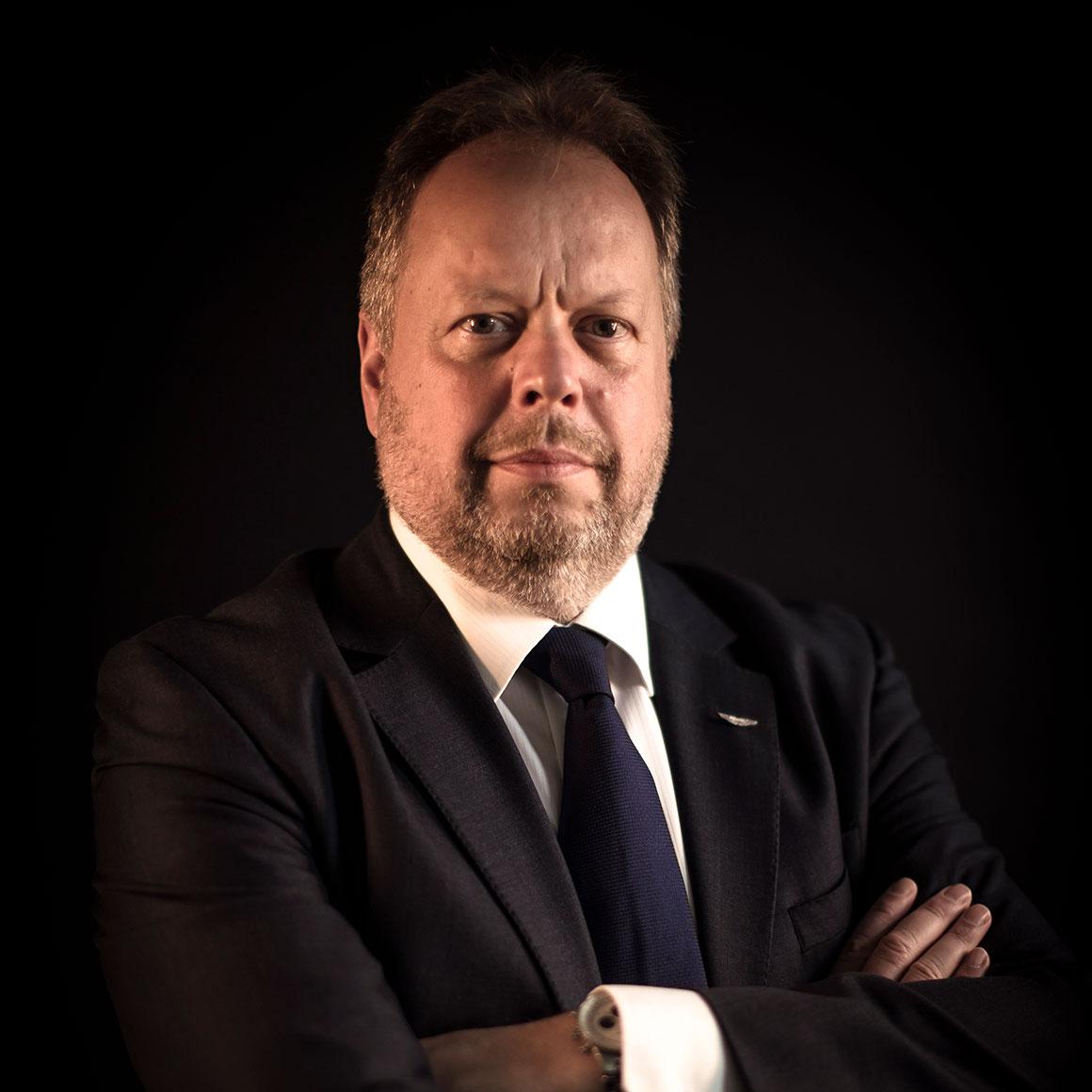 CEO Aston Martin Andy Palmer