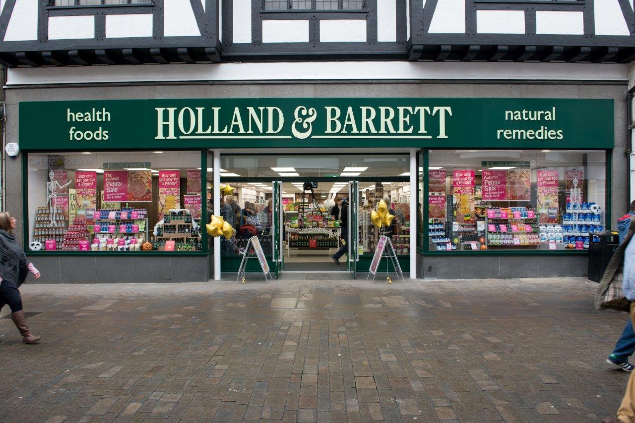 Holland & Barrett storefront