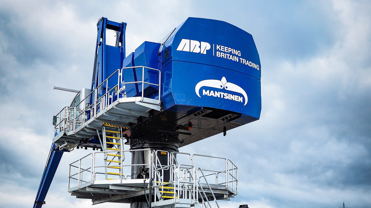 Newport crane investment by ABP