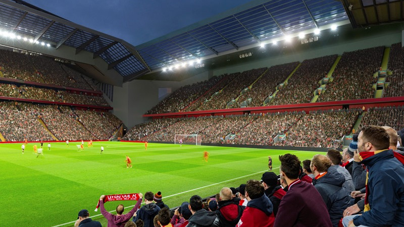Liverpool's Anfield expansion plans go to second-stage consultation