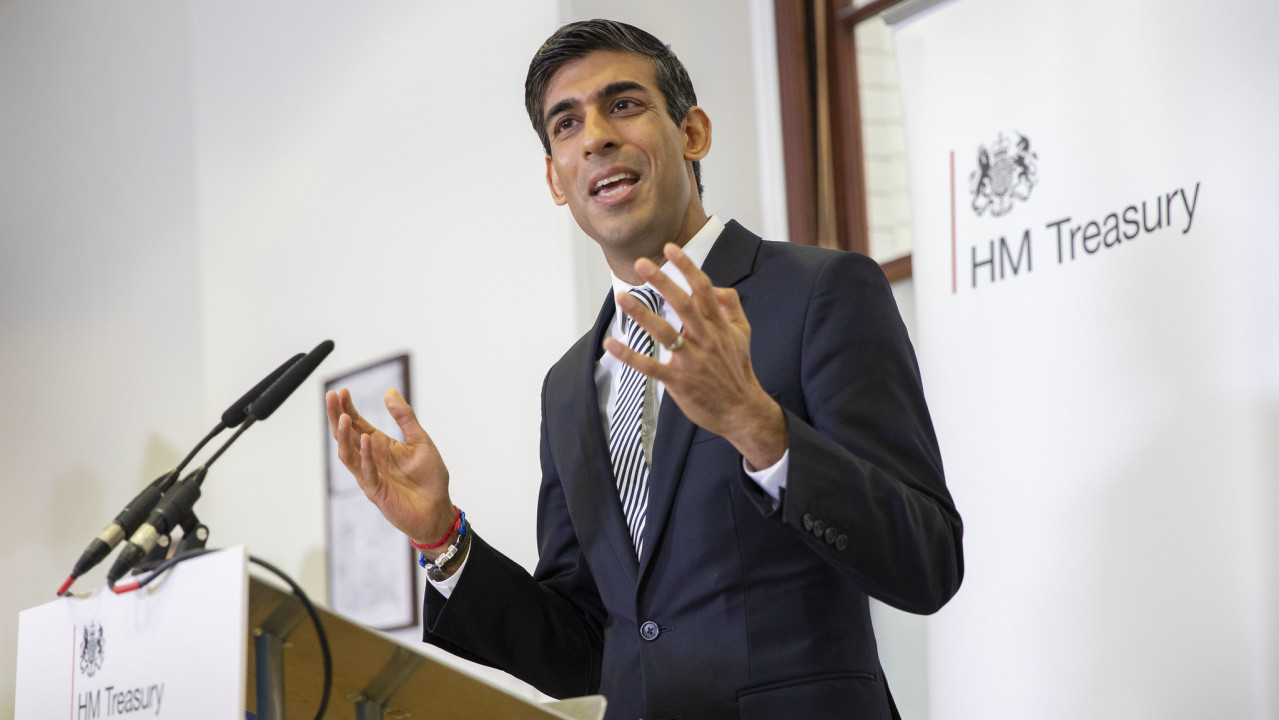 Chancellor Rishi Sunak announces coronavirus furlough scheme will end in October