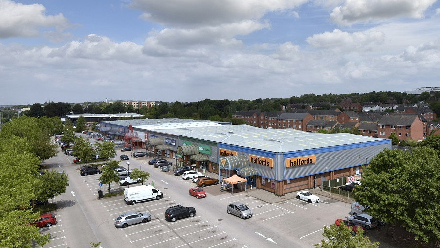 Springfields Retail Park acquired for £8m
