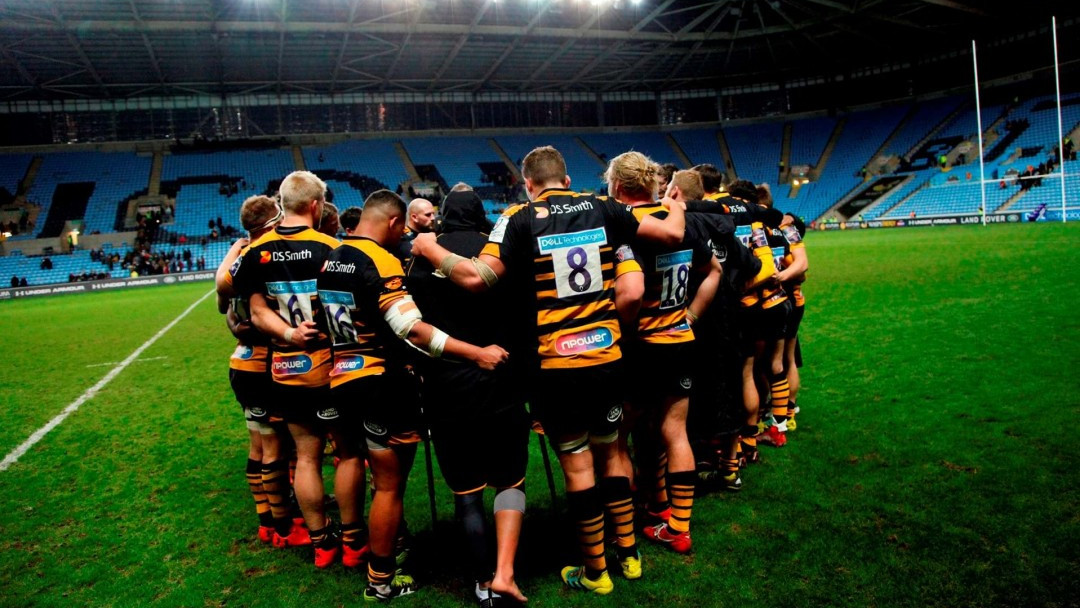 Wasps players take 25% pay cut