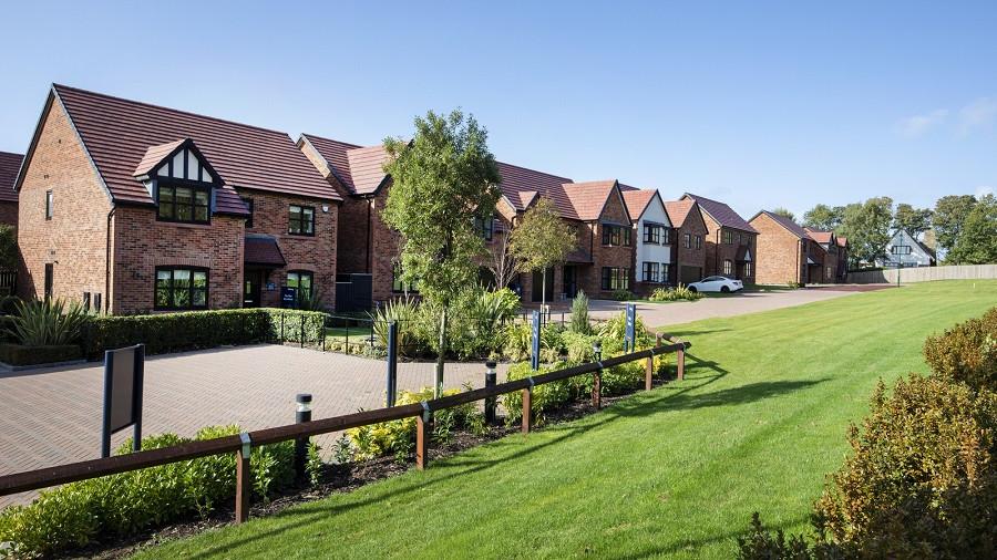Construction of new housing scheme nears milestone